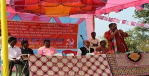 Thousands Organise Under The Red Flag For Land and Dignity of Life in Nawarangpur, Odisha.