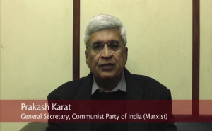 Com Prakash Karat on Obama's visit